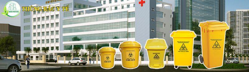 thùng rác y tế thùng rác bệnh viện
