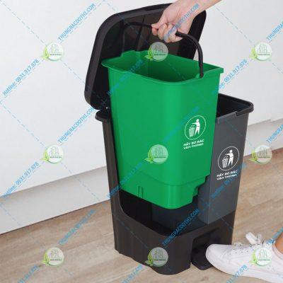 Mua thùng rác phân loại