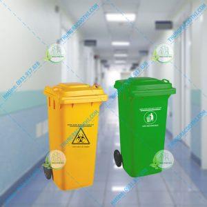 thùng rác bệnh viện 100 lít