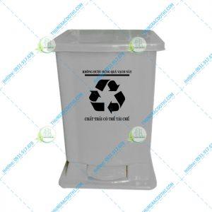 thùng rác bệnh viện