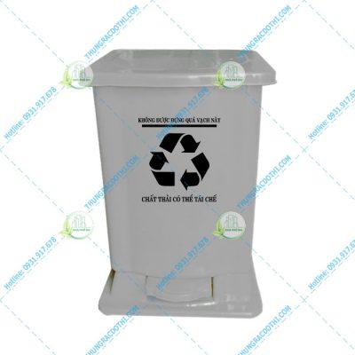 thùng rác bệnh viện 15 lít