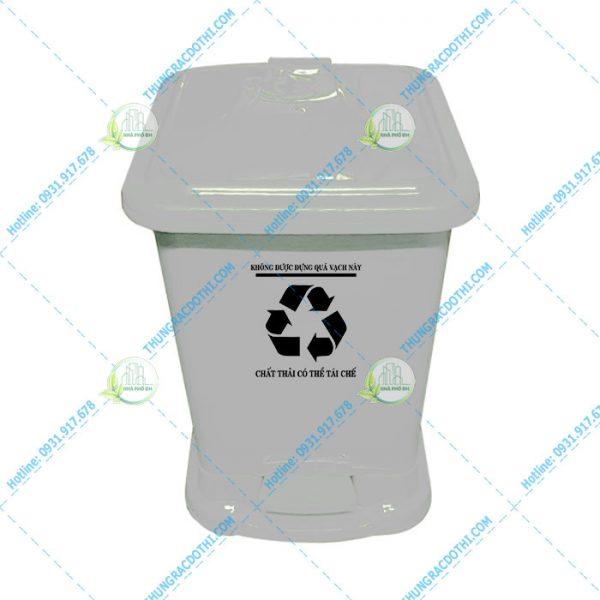 thùng rác khu cách ly 30 lít