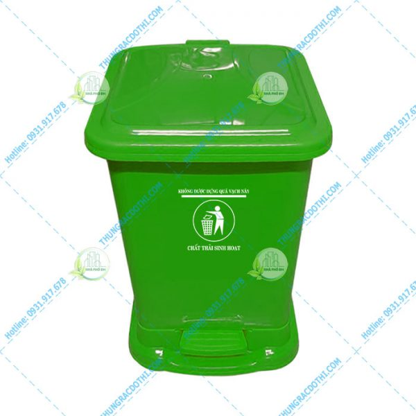 thùng rác bệnh viện 30 lít