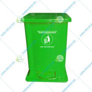 thùng rác nhựa y tế 15 lít