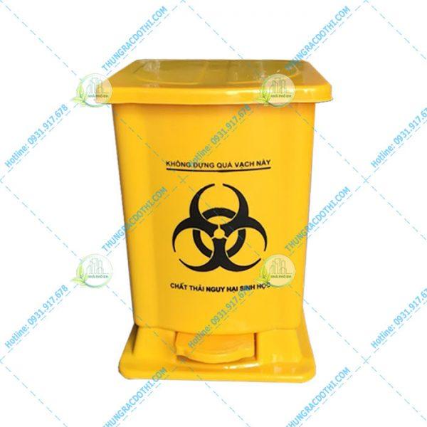 thùng rác y tế 15 lít giá rẻ