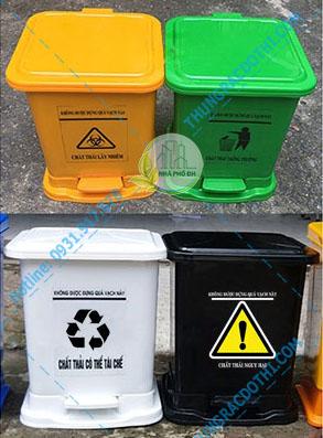 thùng rác y tế 30 lít