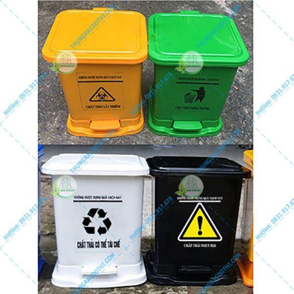 thùng rác y tế giá rẻ