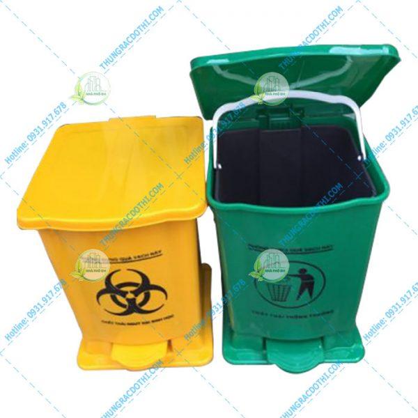 Thùng rác nhựa 15L