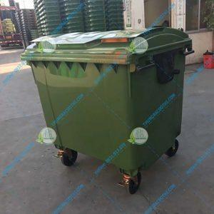 Thùng rác nhựa HDPE 1100L