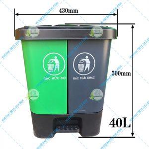 Thùng rác phân loại rác