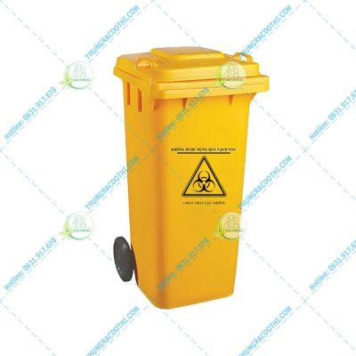 thùng rác nhựa y tế 100 lít