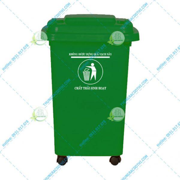 gia thùng rác y tế 60 lít