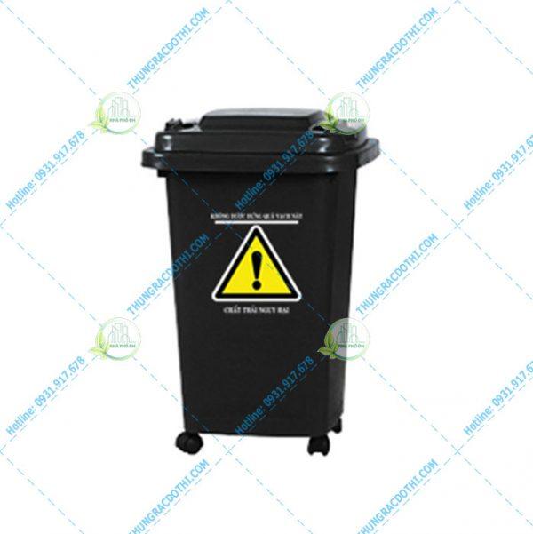 mua thùng rác y tế 60 lít