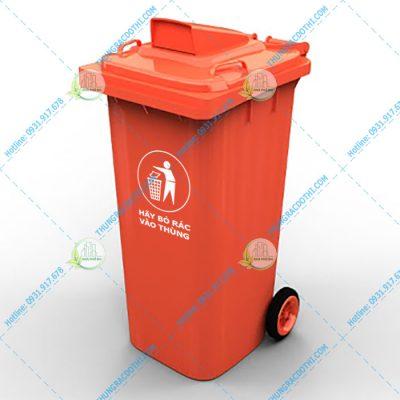 Thừng rác công nghiệp nắp hở