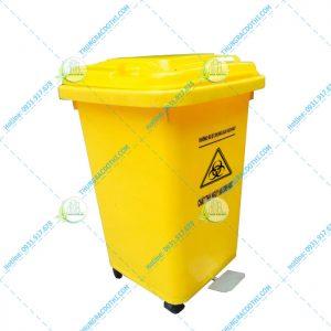 thùng rác y tế 60 lít đạp chân