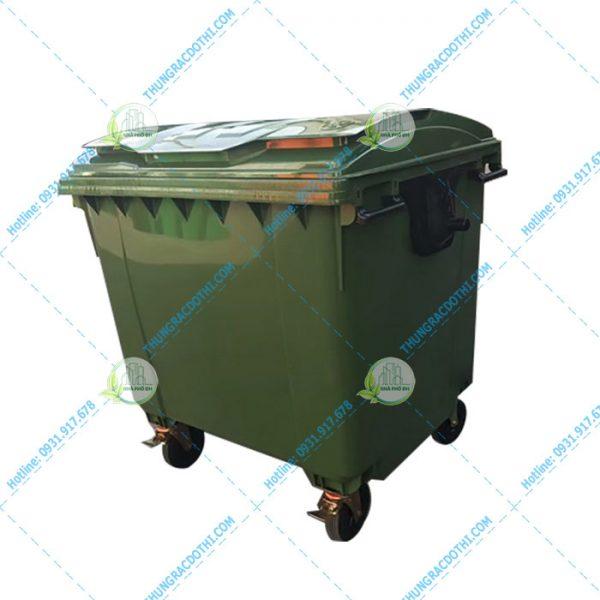 Thùng rác nhựa 1100L