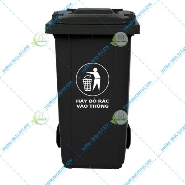 thùng rác nhựa miền trung