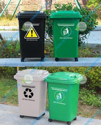 Thùng đựng rác thải y tế 60 lít