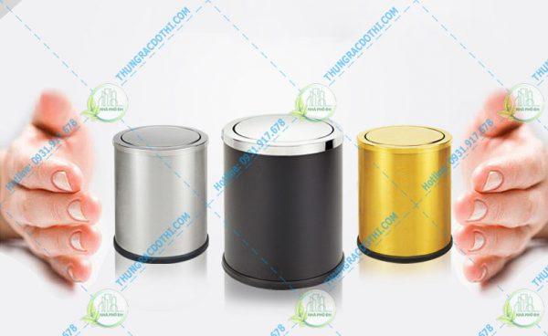 mua thùng rác inox