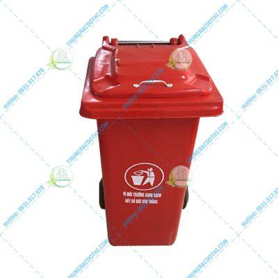 Thùng rác nhựa 100 lít composite