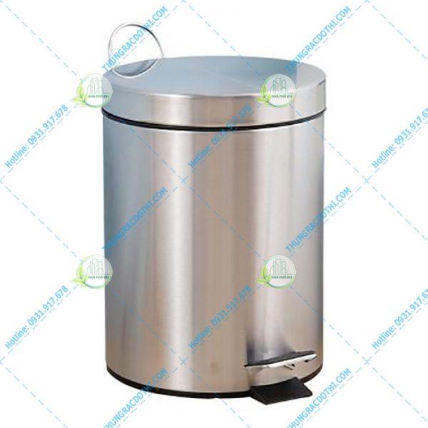 thùng rác inox cao cấp loại nhỏ