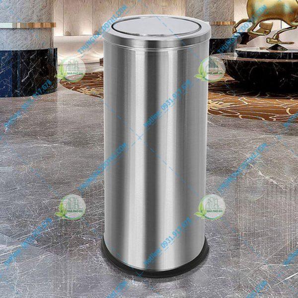 thùng rác inox khách sạn 20 lít