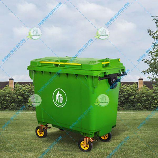 Thùng rác sinh hoạt lớn