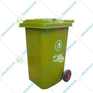 giá thùng rác composite 240 lít