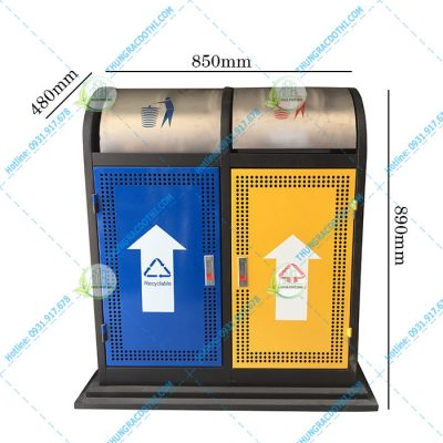 thùng rác tiện lợi HN-37Q