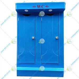 nhà vệ sinh composite có 2 phòng