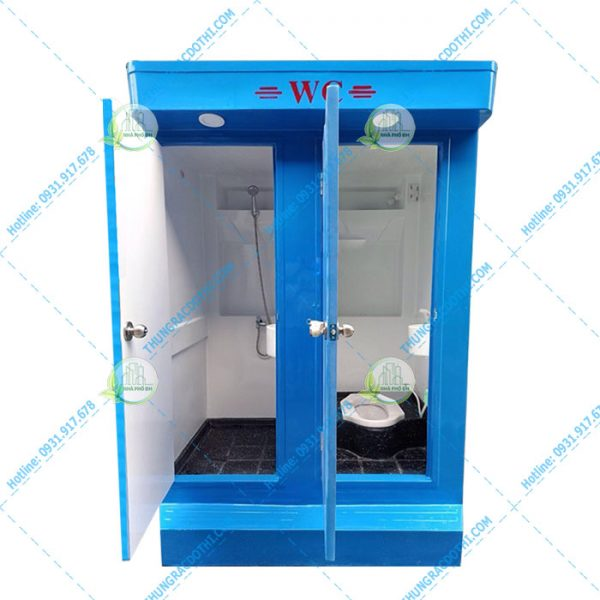 nhà vệ sinh di động composite