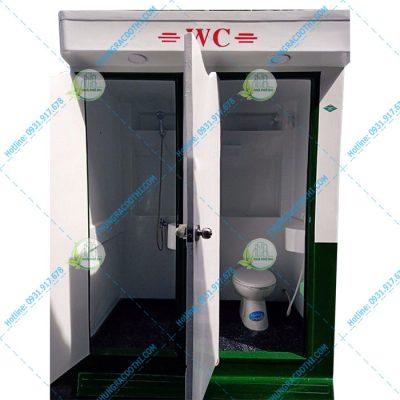 nhà vệ sinh di động kết hợp phòng tắm