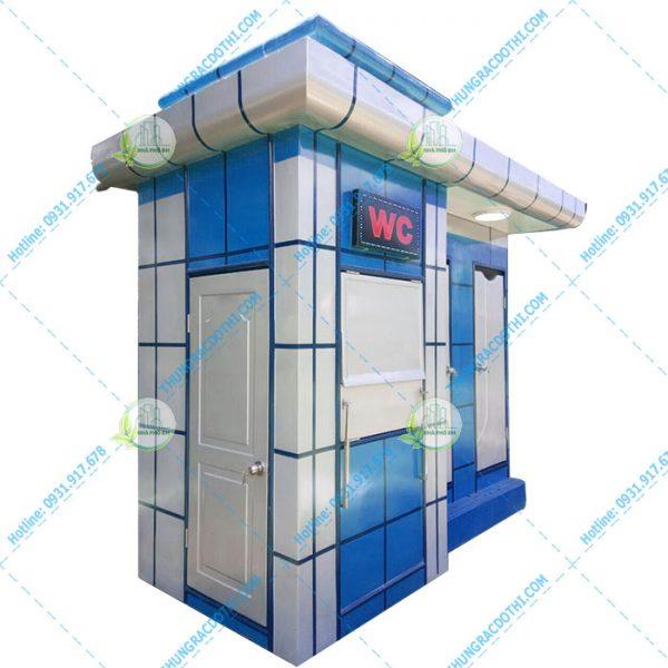 nhà vệ sinh di động phố đô 1