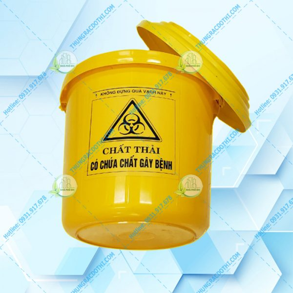 thùng đựng vật sắc nhọn y tế 14 lit