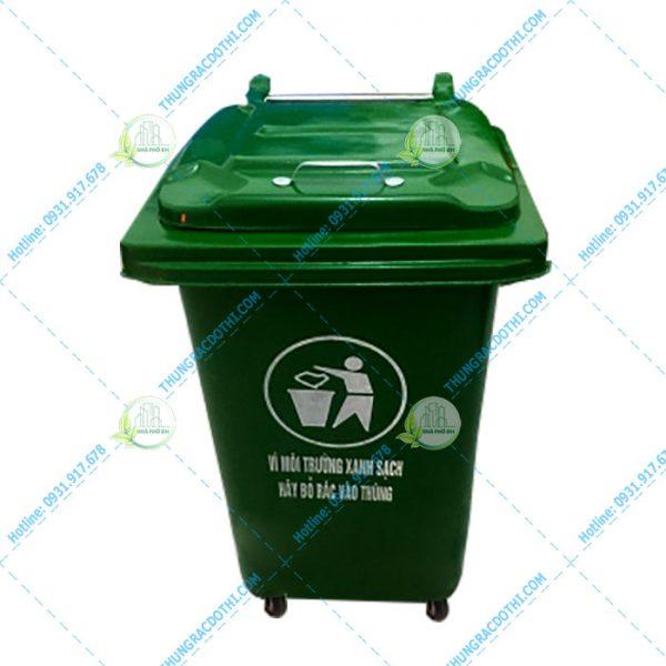 thùng đựng rác bằng nhựa composite