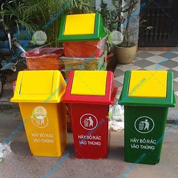 thùng đựng rác composite