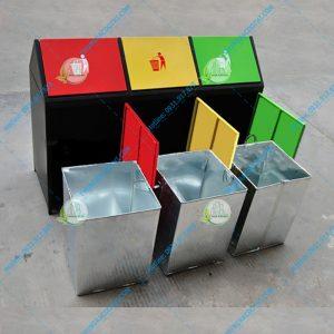 thùng đựng rác 3 ngăn hn70o