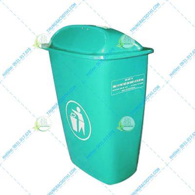 thùng rác 50 lít composite