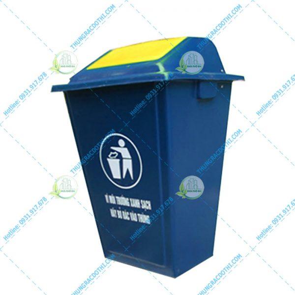thùng rác composite 100l