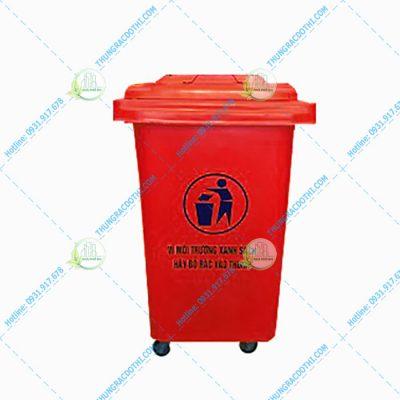 thùng rác 60l composite