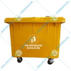 thùng rác composite 600 lít