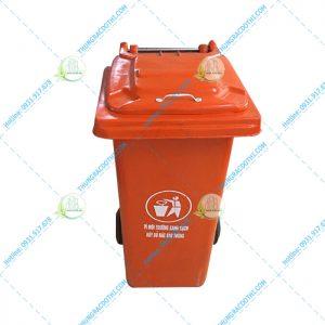 thùng rác công cộng composite