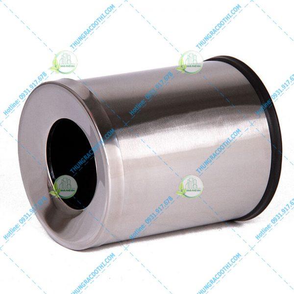 thùng rác inox mini 10 lít