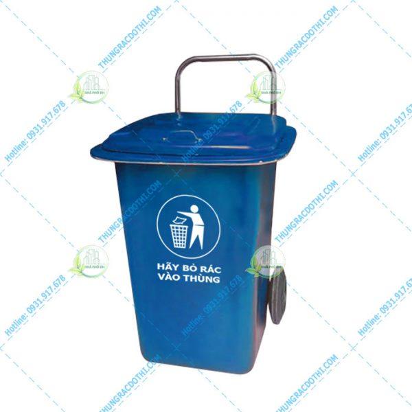 thùng rác nhựa composite 90
