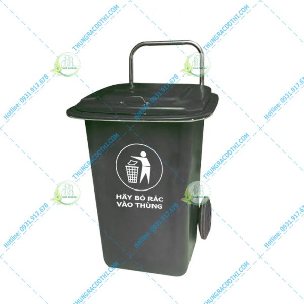 thùng rác nhựa composite 90 lít