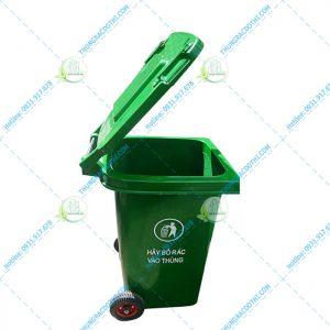 thùng rác nhựa composite các loại