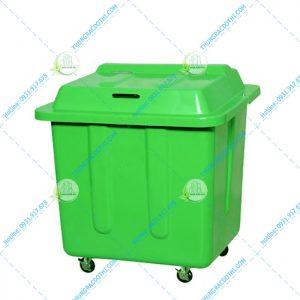 thùng rác chuyên dụng 500 lít