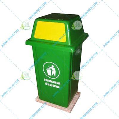 mua thùng rác composite 90 lít