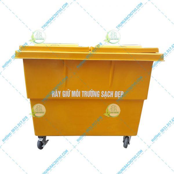 thùng rác composite 1000 lít