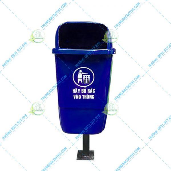 thùng rác composite 55 lít